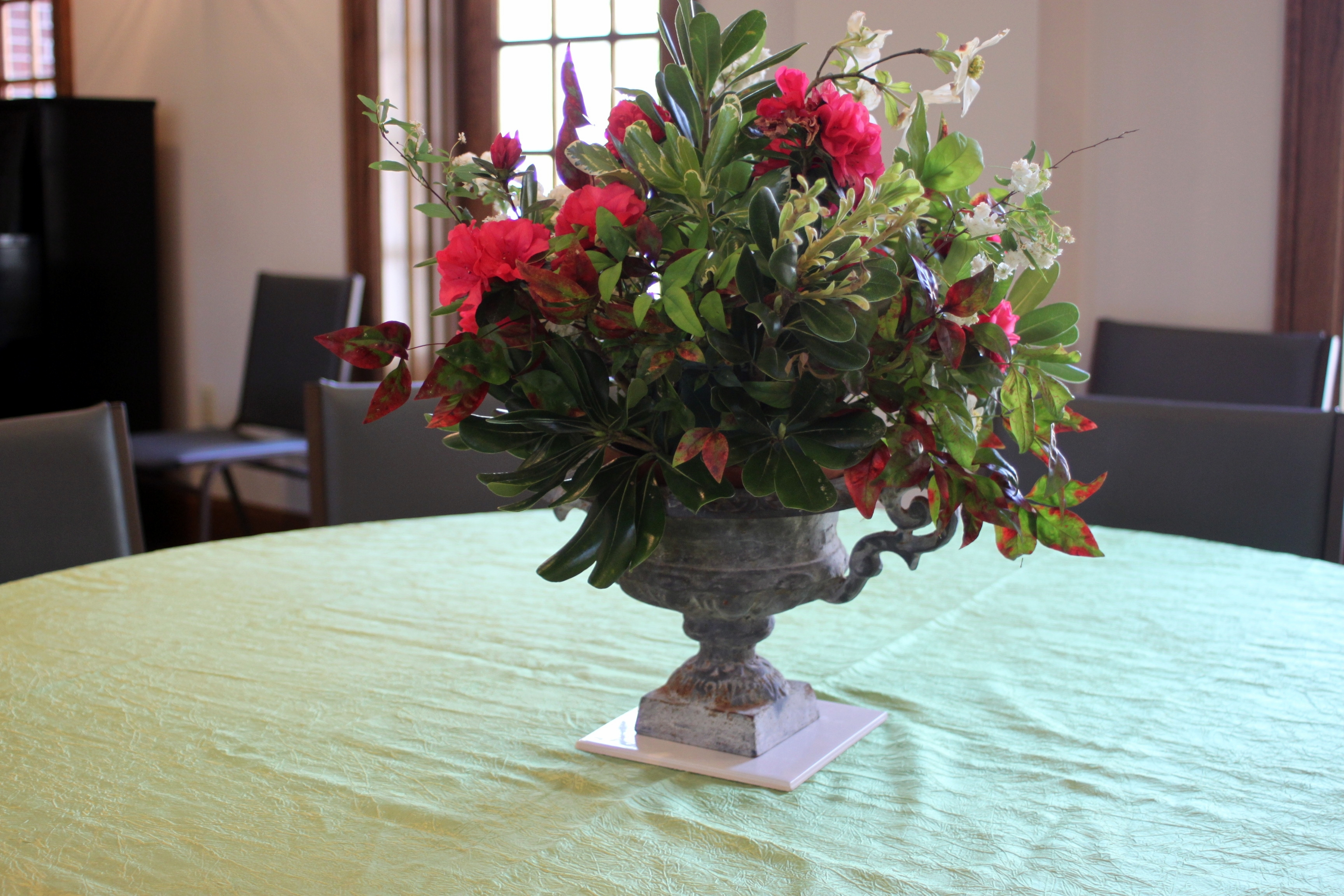 Spring Floral Arrangements Church