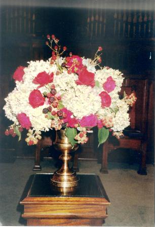 Mother's flower arrangments 001