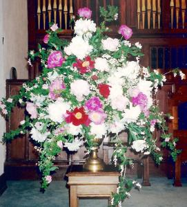 Mother's flower arrangments 005