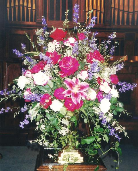 Mother's flower arrangments 007
