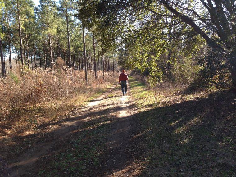 Jim in woods